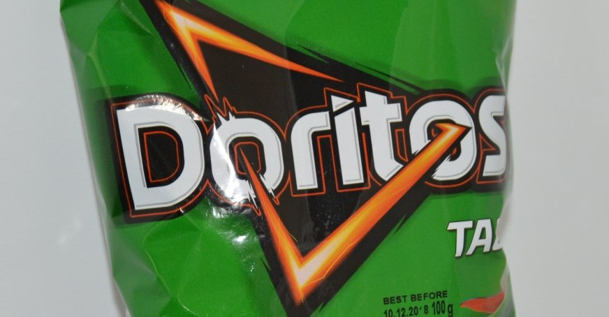 Na zdj. chipsy Doritos