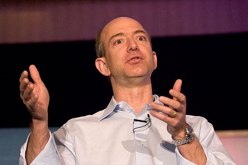 Jeff Bezos, szef firmy Amazon